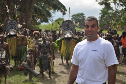 one brown planet, papua new guinea, tribe people